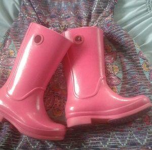 Girls Crocs Rain Boots 13 Youth